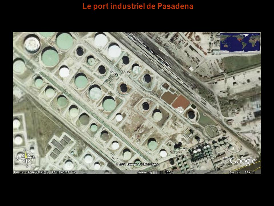 Le port industriel de Pasadena