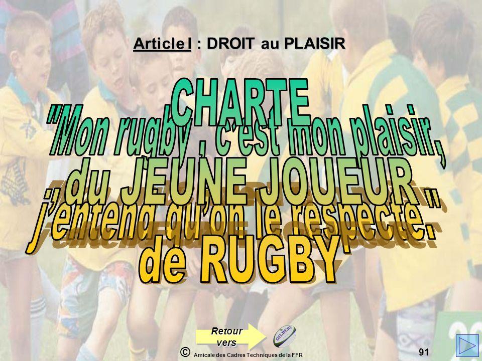 Mon rugby , c'est mon plaisir, j'entend qu'on le respecte.
