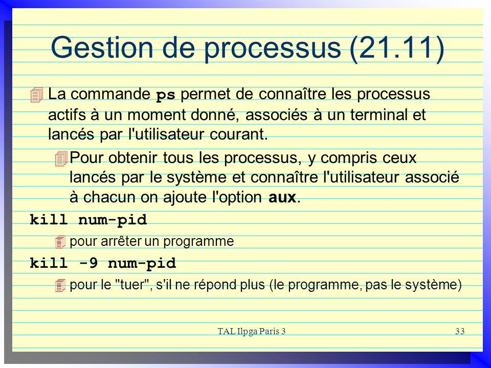 Gestion de processus (21.11)