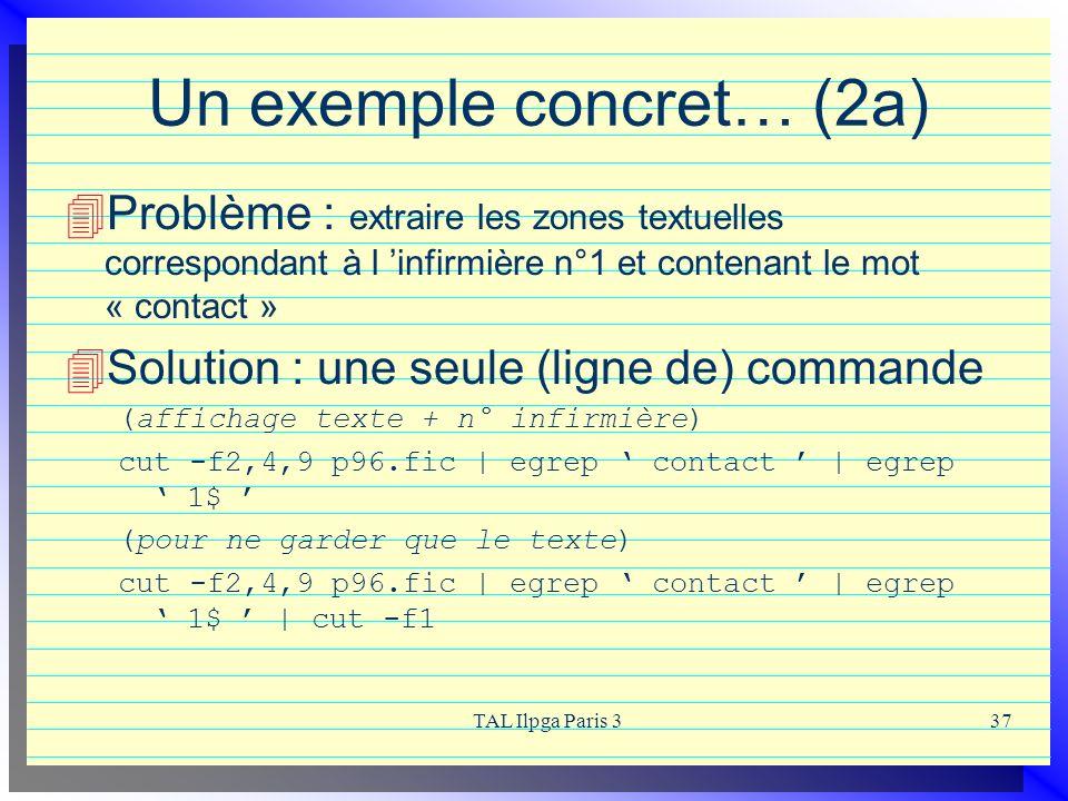 Un exemple concret… (2a)
