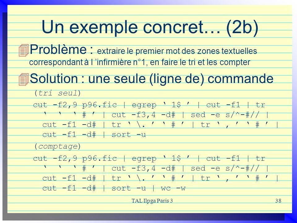 Un exemple concret… (2b)