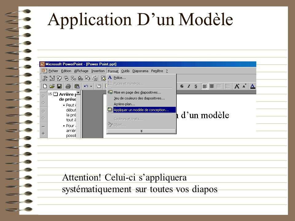 Application D'un Modèle