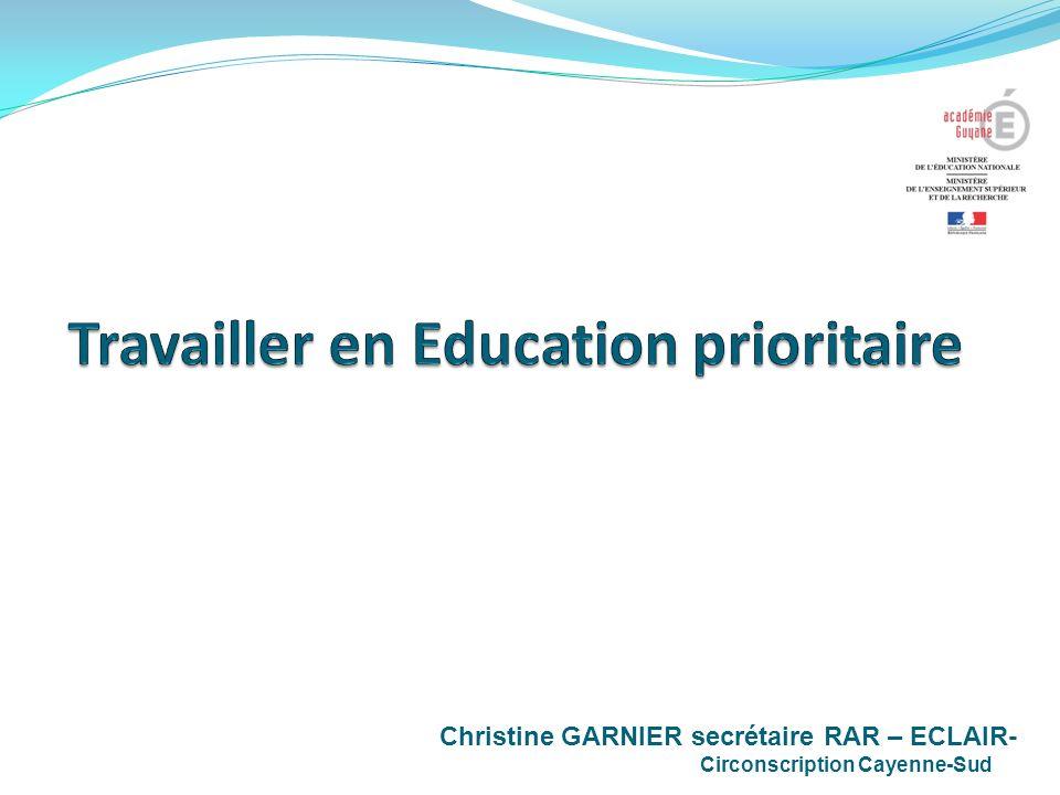 Travailler en Education prioritaire