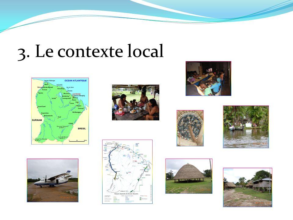 3. Le contexte local