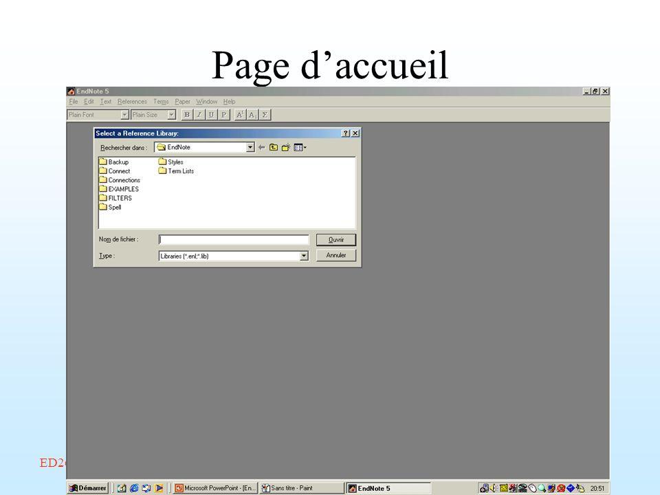 Page d'accueil ED268/savoir-faire/Février 2002/Endnote/A. Amelot