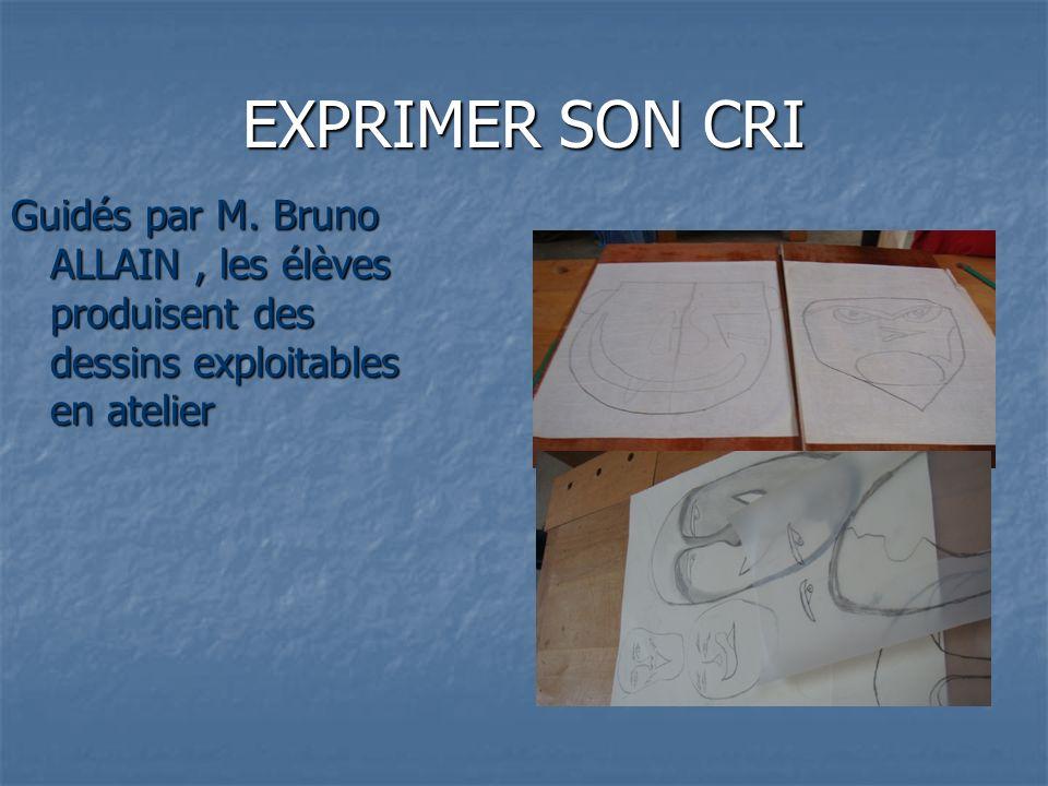 EXPRIMER SON CRI Guidés par M.