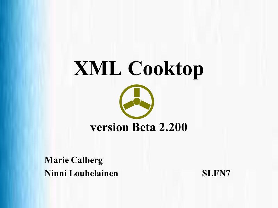 version Beta 2.200 Marie Calberg Ninni Louhelainen SLFN7