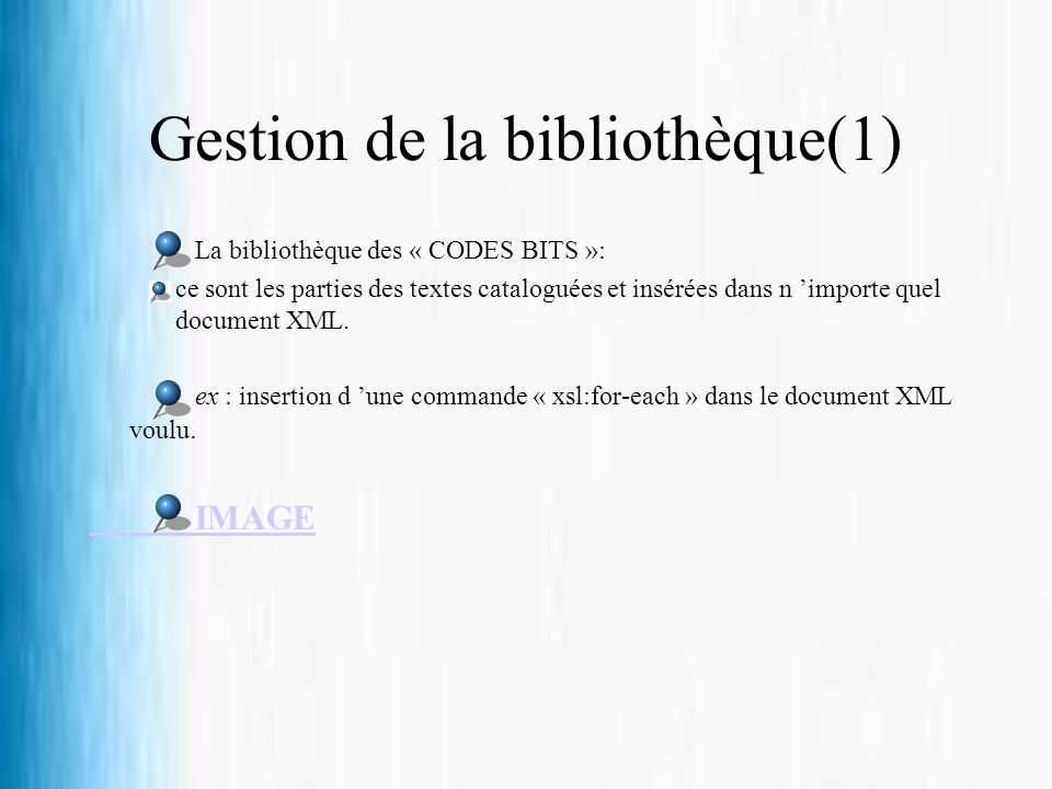 Gestion de la bibliothèque(1)