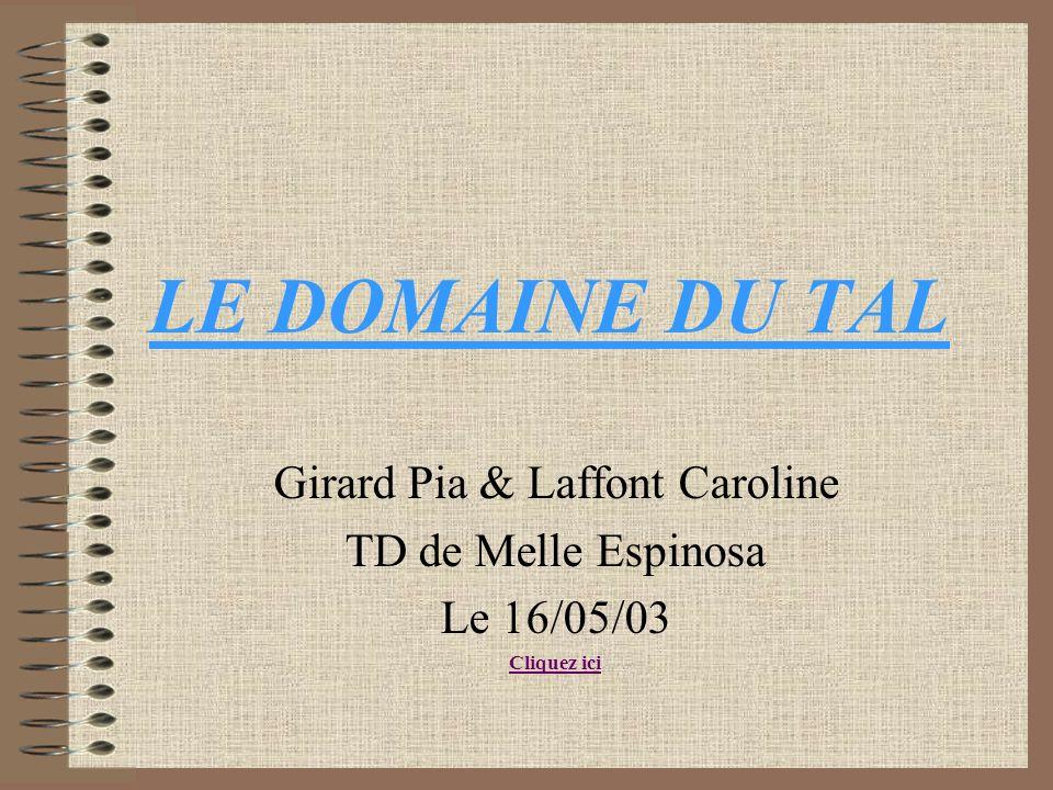Girard Pia & Laffont Caroline