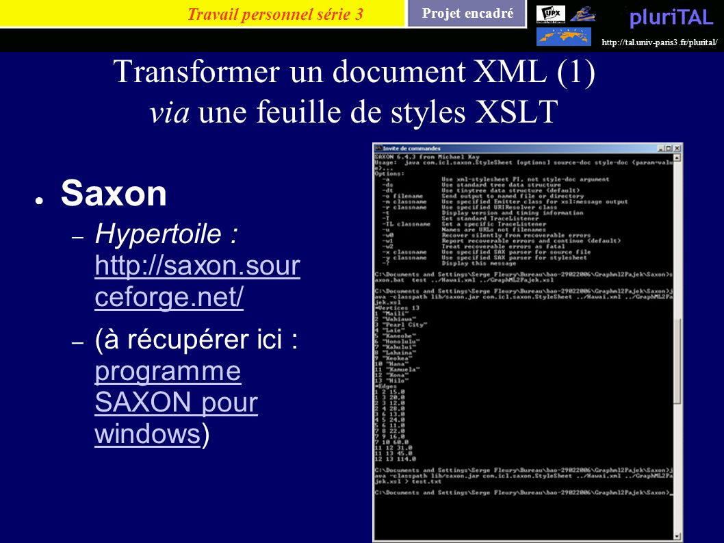 Transformer un document XML (1) via une feuille de styles XSLT