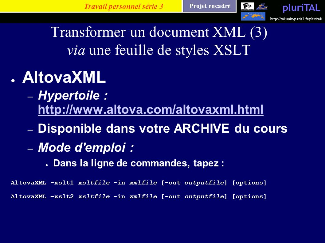 Transformer un document XML (3) via une feuille de styles XSLT