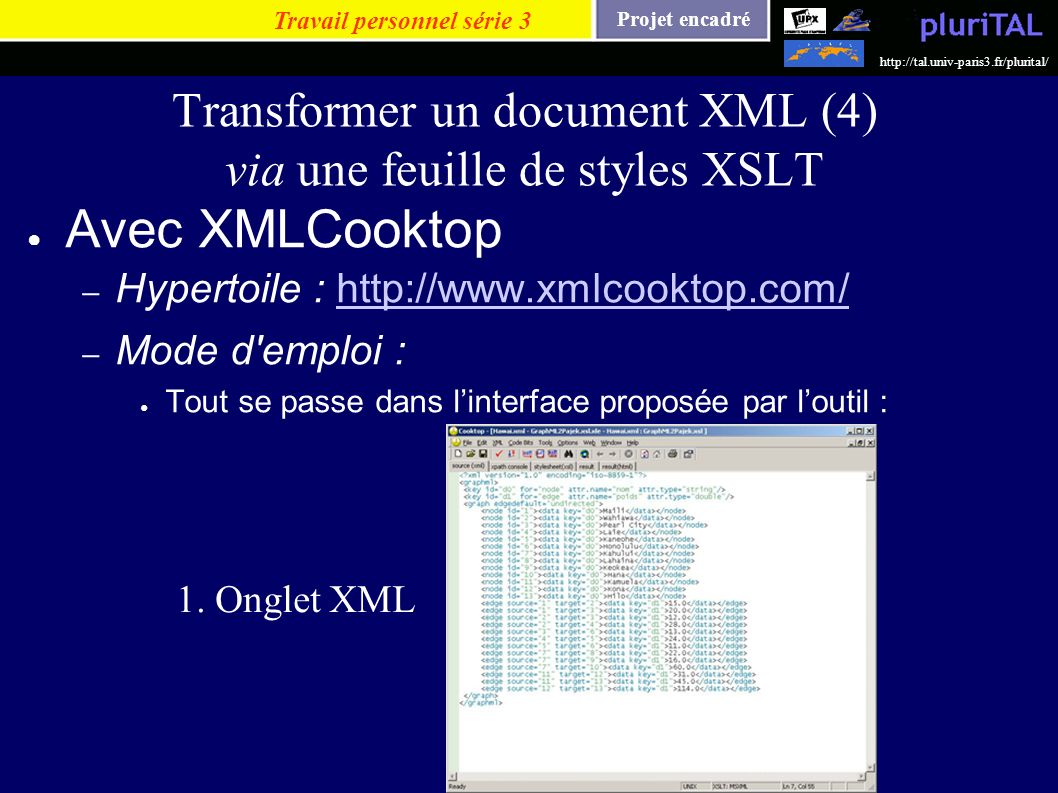 Transformer un document XML (4) via une feuille de styles XSLT