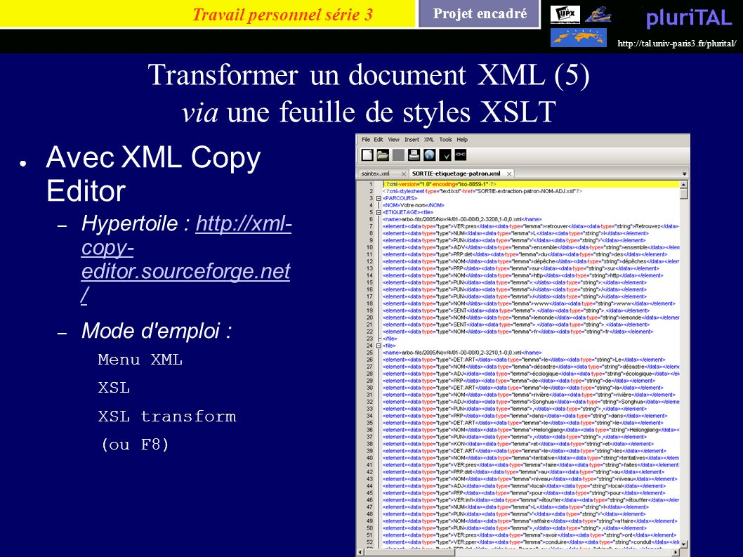 Transformer un document XML (5) via une feuille de styles XSLT