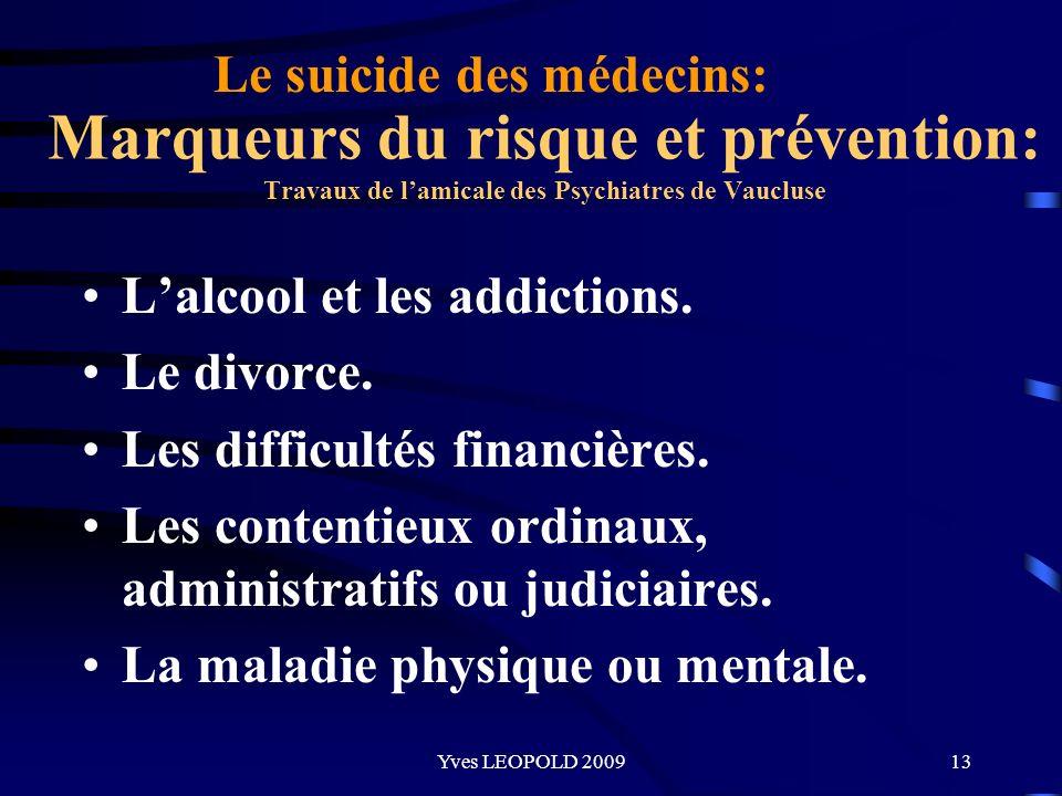 Le suicide des médecins: