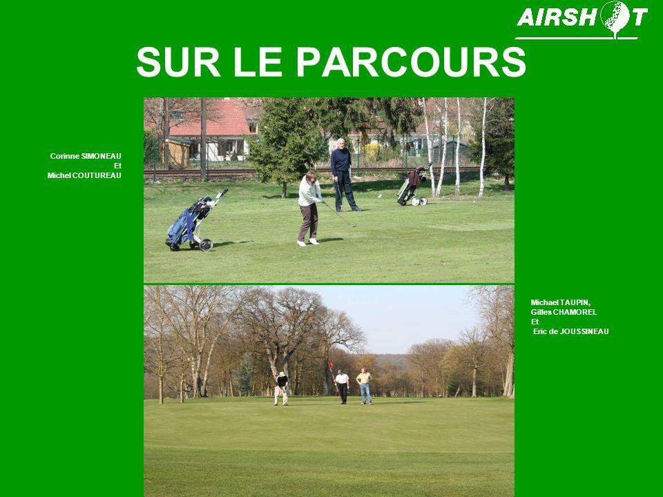 SUR LE PARCOURS Corinne SIMONEAU Et Michel COUTUREAU Michael TAUPIN,