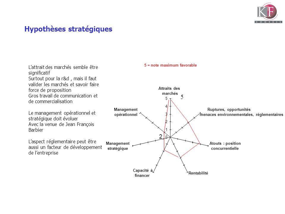 Hypothèses stratégiques