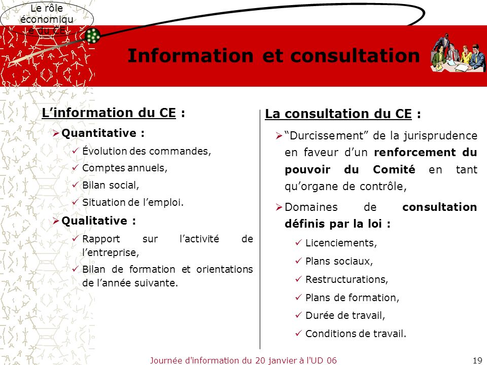 Information et consultation
