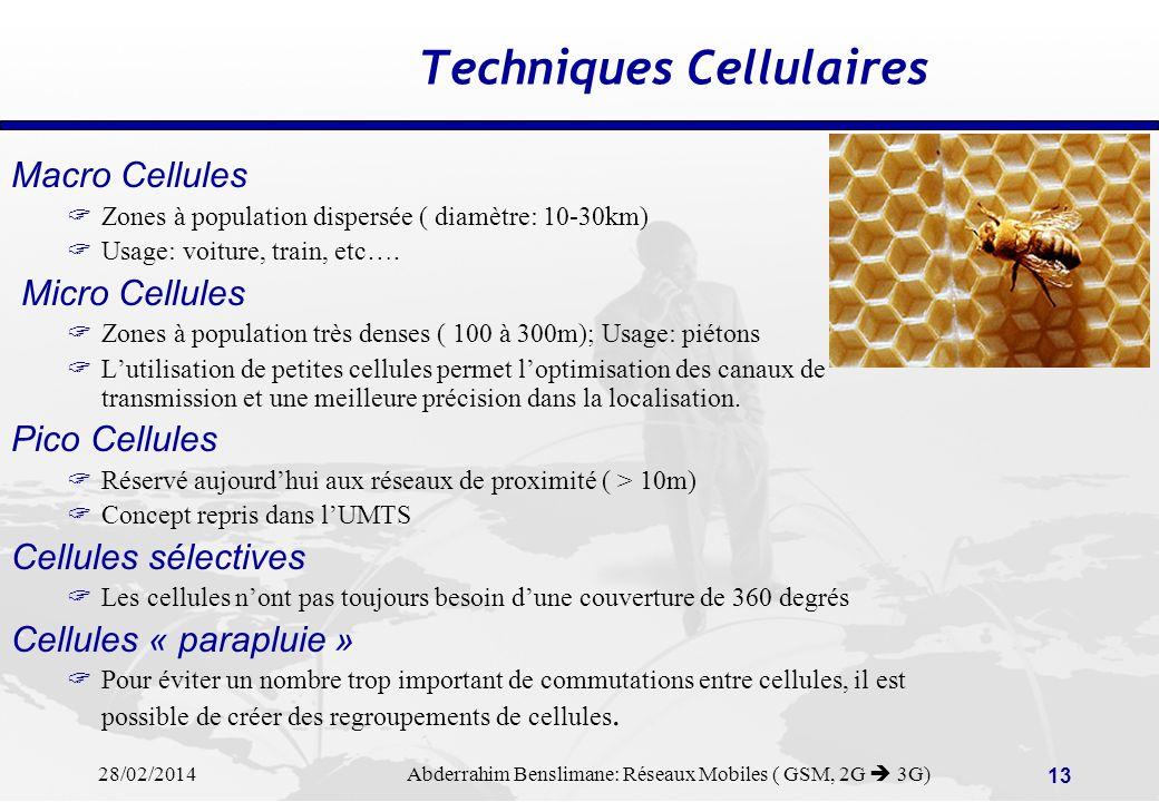 Techniques Cellulaires