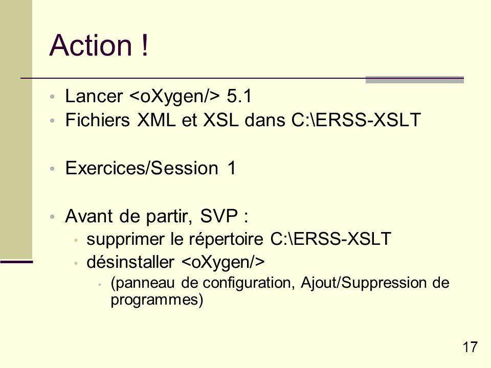 Action ! Lancer <oXygen/> 5.1