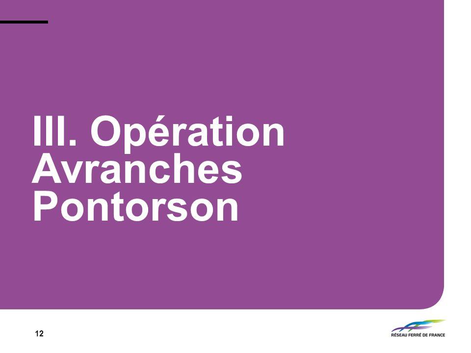 III. Opération Avranches Pontorson