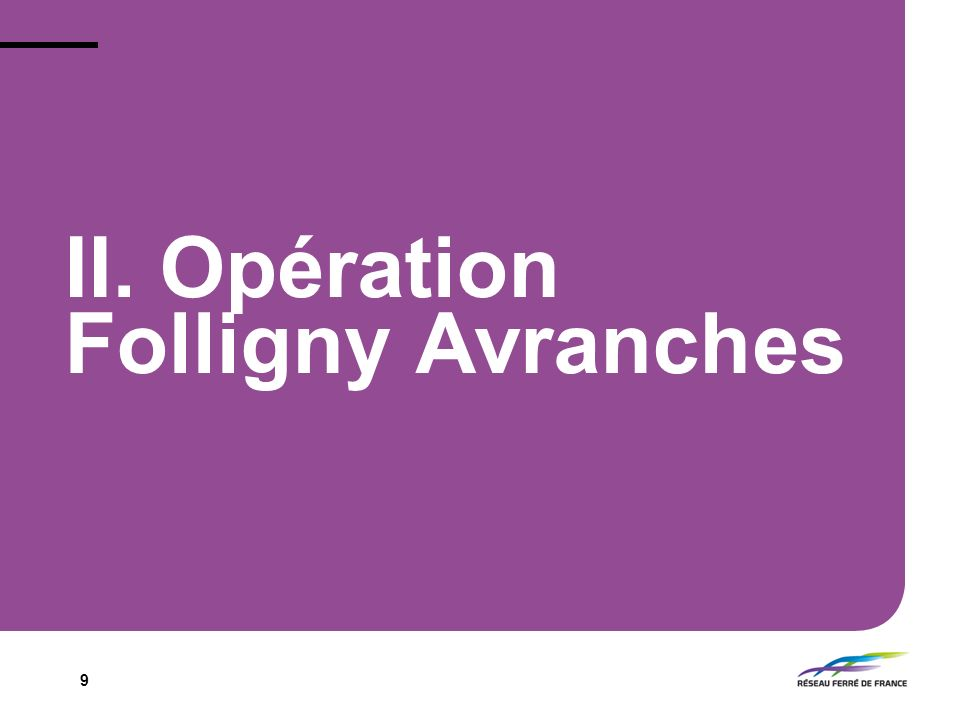 II. Opération Folligny Avranches