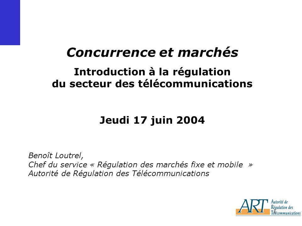 Concurrence et marchés