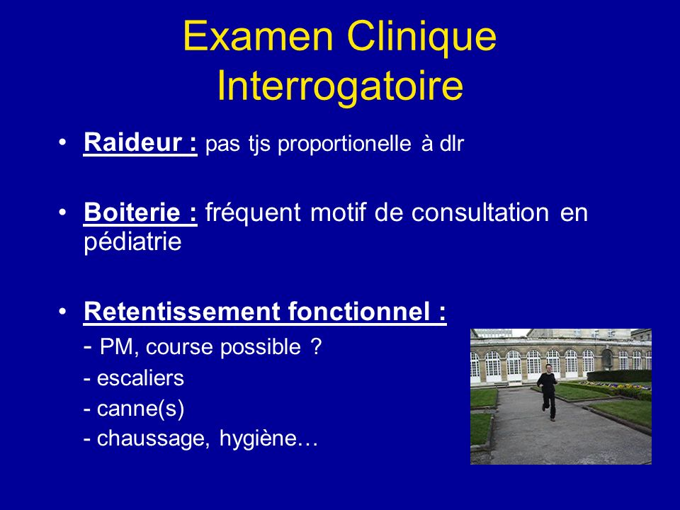 Examen Clinique Interrogatoire