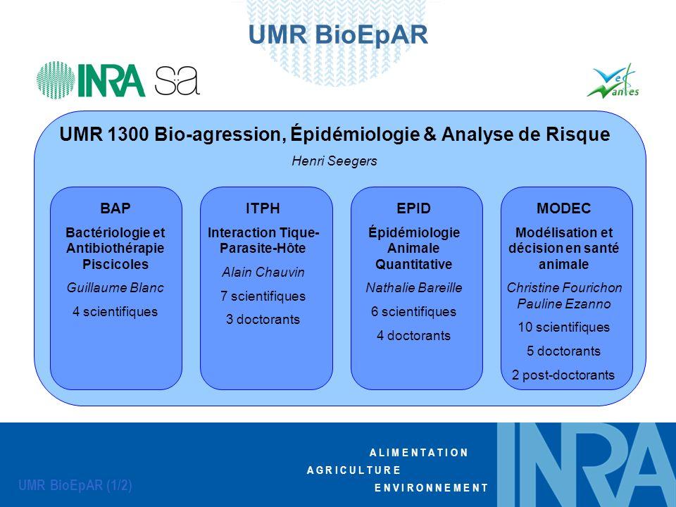 UMR BioEpAR UMR 1300 Bio-agression, Épidémiologie & Analyse de Risque