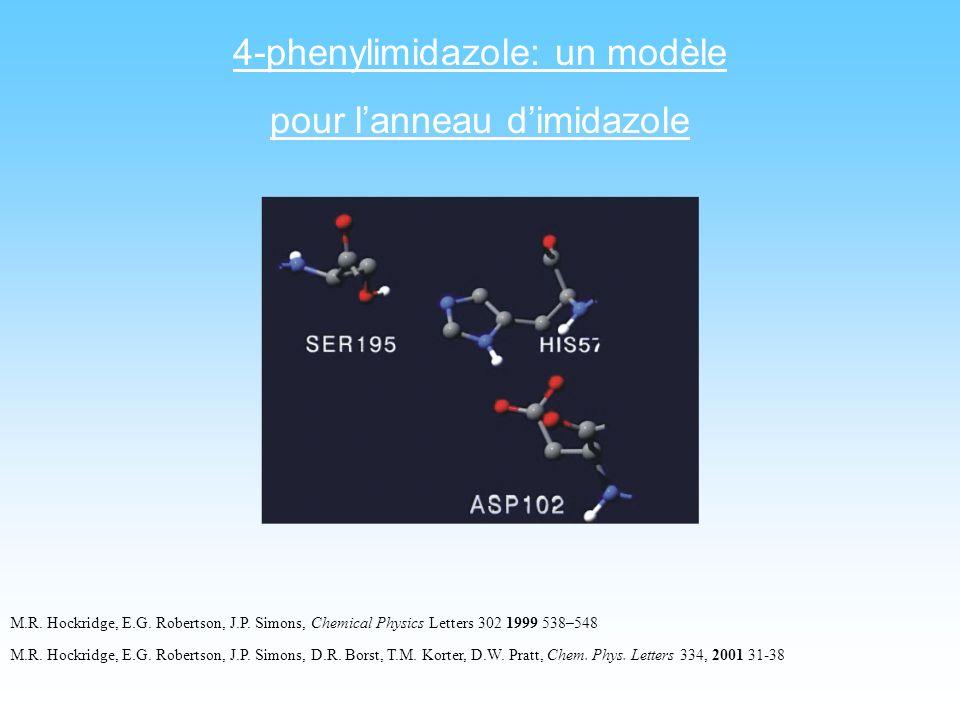 4-phenylimidazole: un modèle pour l'anneau d'imidazole
