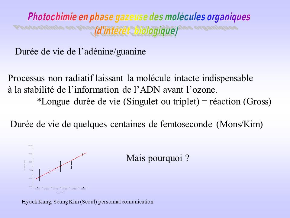 Durée de vie de l'adénine/guanine