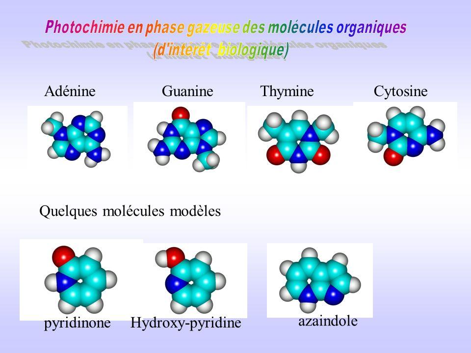 Quelques molécules modèles