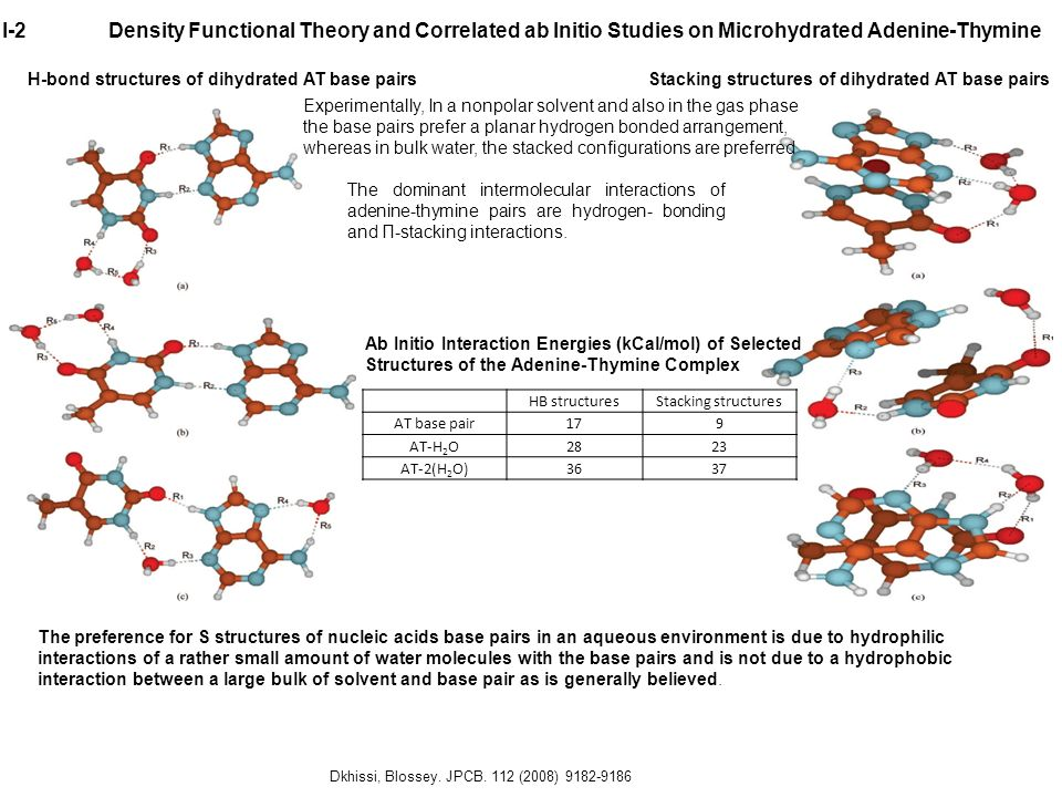 I-2 Density Functional Theory and Correlated ab Initio Studies on Microhydrated Adenine-Thymine