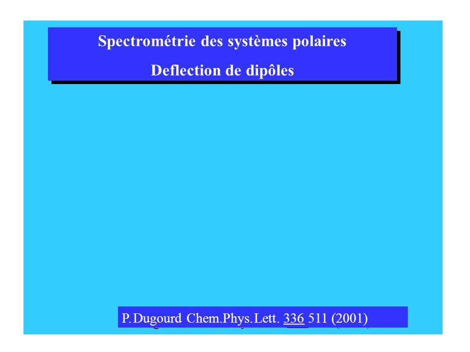 Spectrométrie des systèmes polaires