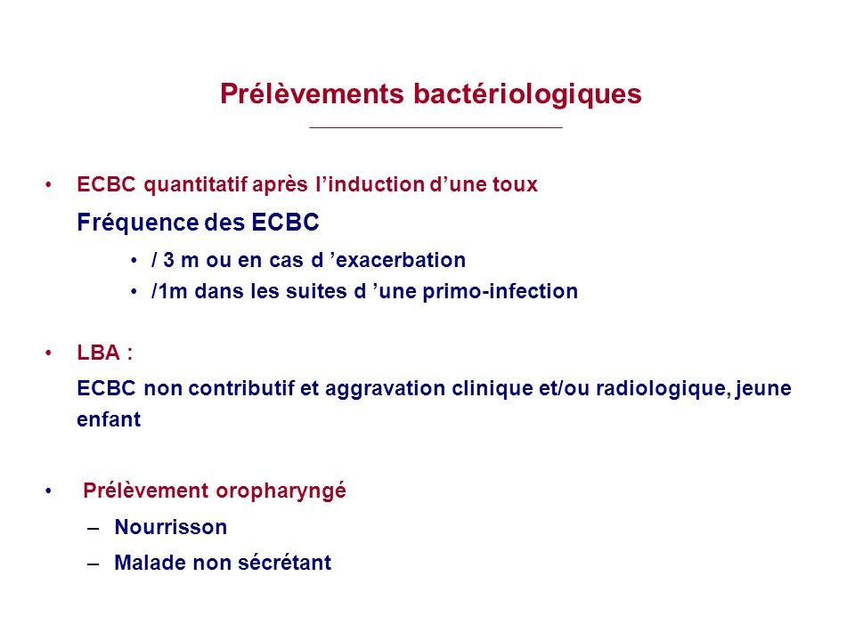 Prélèvements bactériologiques