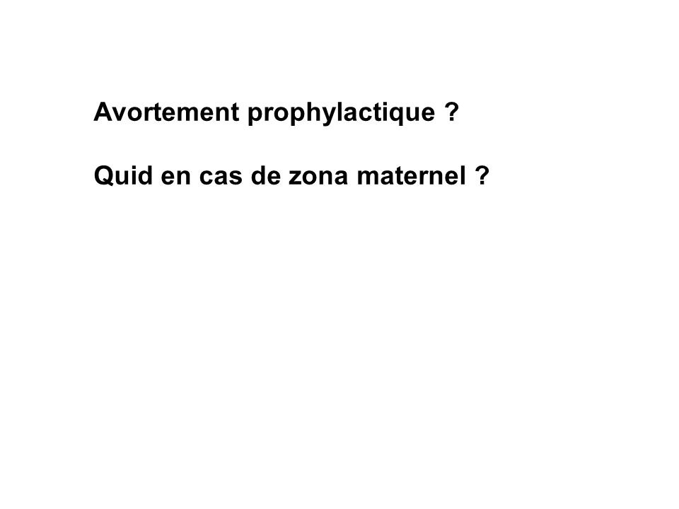 Avortement prophylactique