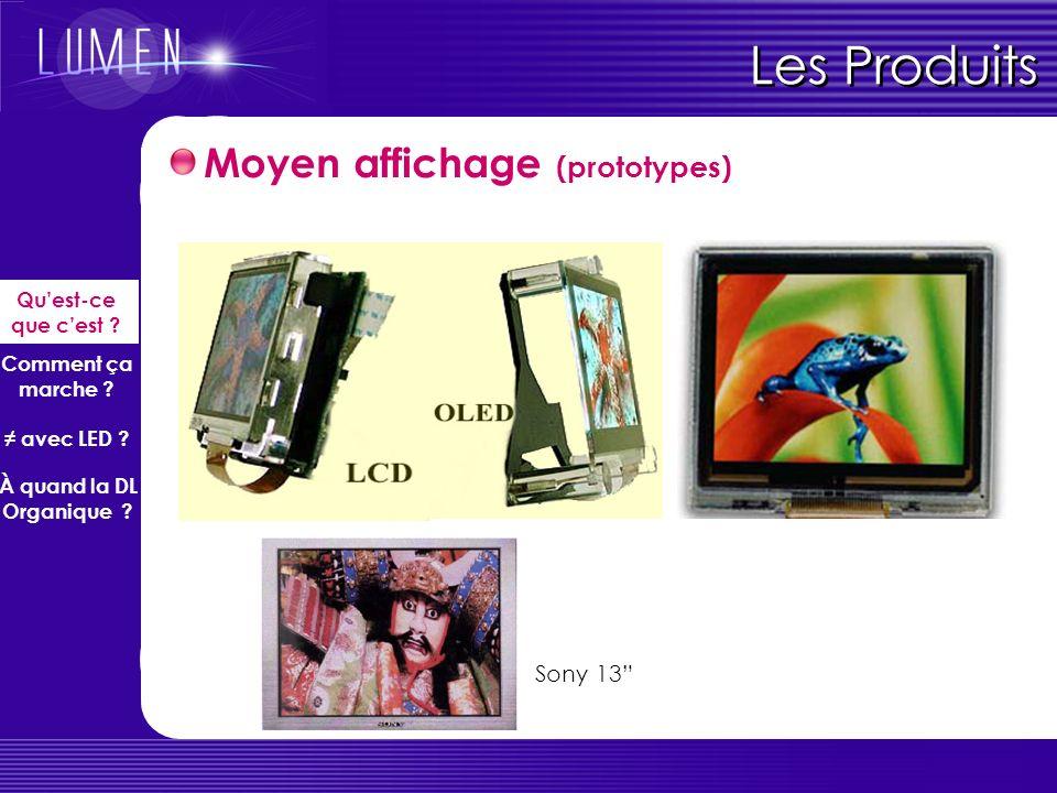 Les Produits Moyen affichage (prototypes) Sony 13