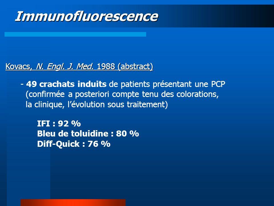 Immunofluorescence Kovacs, N. Engl. J. Med. 1988 (abstract)