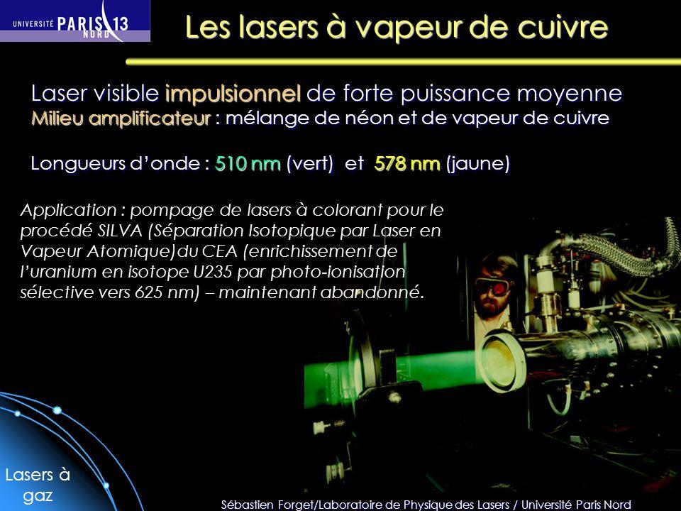 Les lasers à vapeur de cuivre