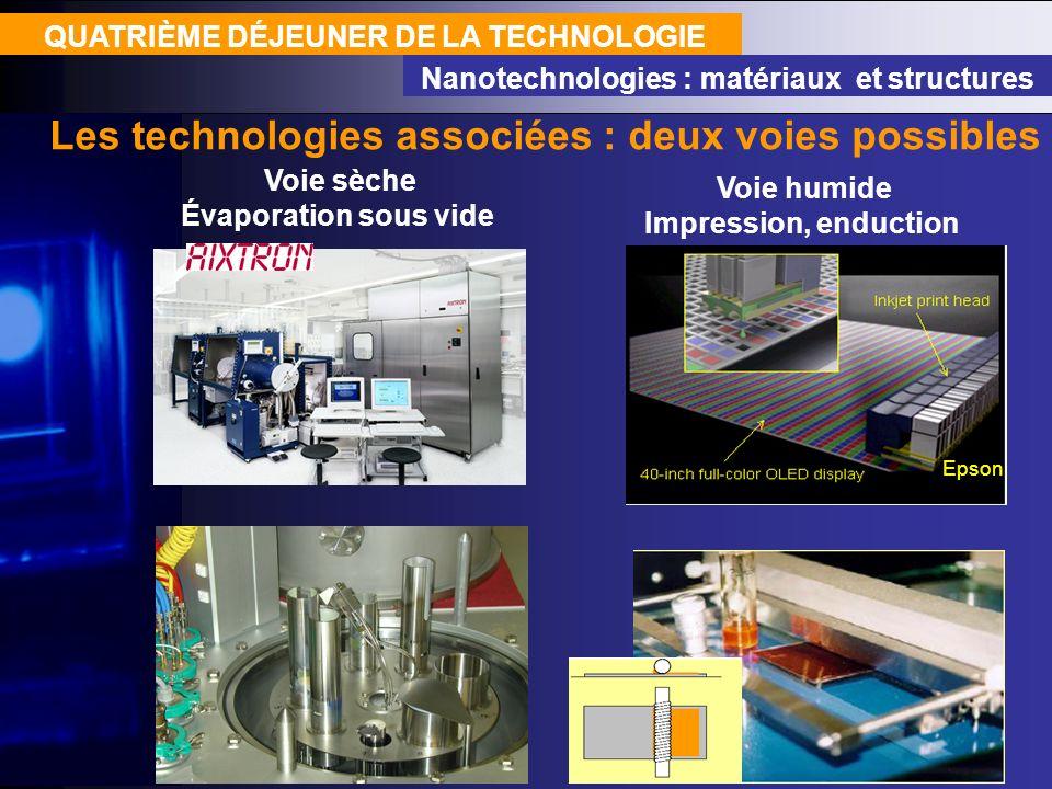 Les technologies associées : deux voies possibles