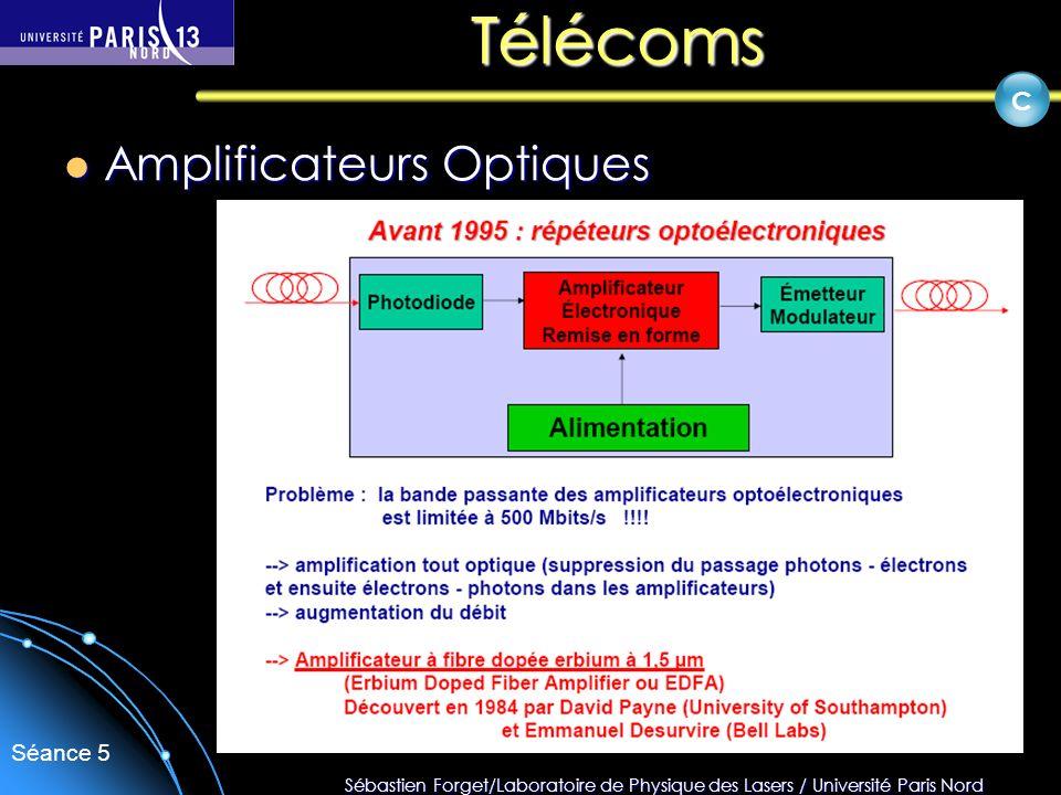 Télécoms C Amplificateurs Optiques