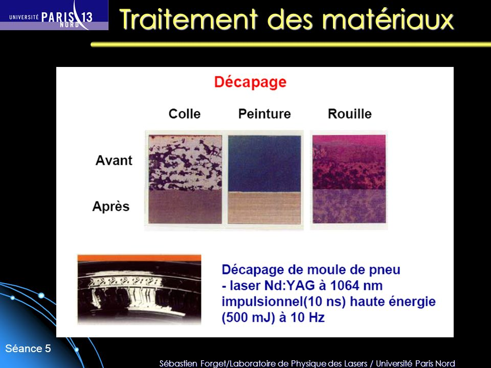 Traitement des matériaux