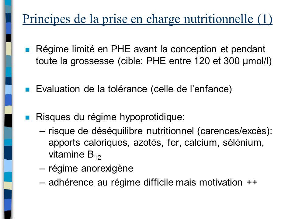 Principes de la prise en charge nutritionnelle (1)