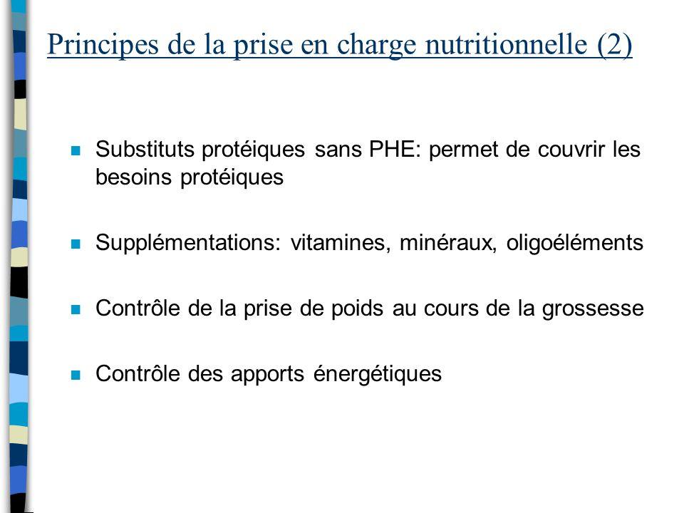 Principes de la prise en charge nutritionnelle (2)