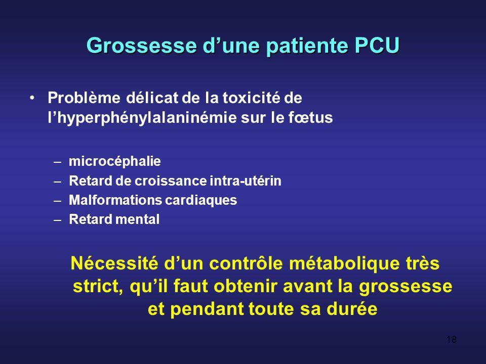 Grossesse d'une patiente PCU
