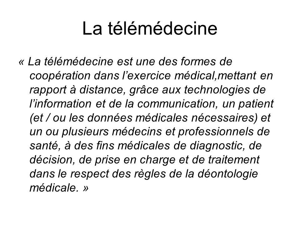 La télémédecine