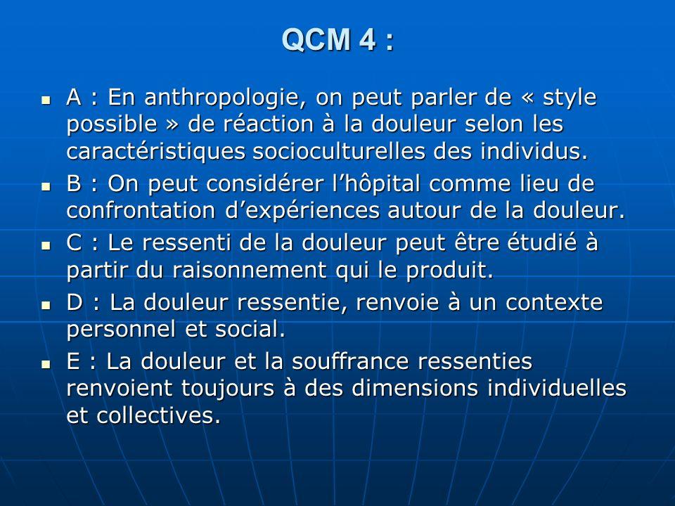 QCM 4 :