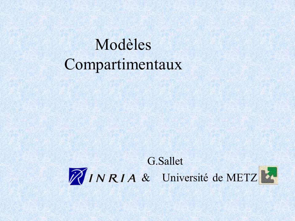 Modèles Compartimentaux