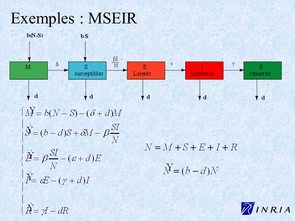 Exemples : MSEIR
