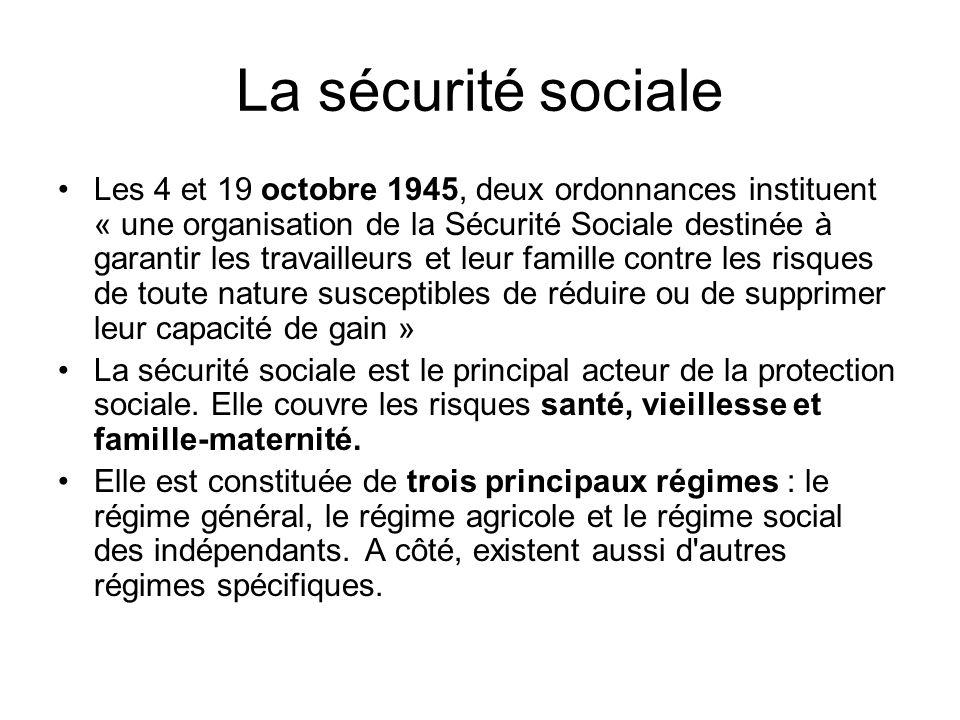 La sécurité sociale