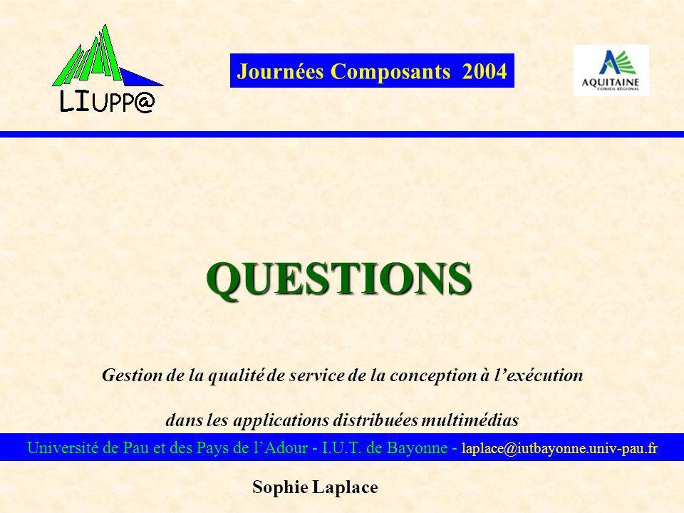 QUESTIONS Journées Composants 2004